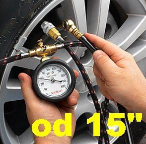"""Hustenie pneumatík plynom 15"""" a viac"""
