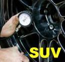 Hustenie pneumatík plynom SUV/OFF ROAD