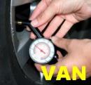 Hustenie pneumatík plynom VAN