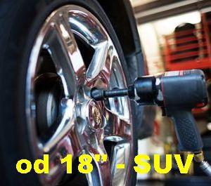 "Prezutie komplet pneu os/SUV 18"" a viac"