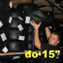 """Uskladnenie pneumatík bez disku do 15"""" (sada)"""