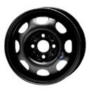 Disk ocel  KFZ  čierny 4,5x13 4x100x57 ET35,0
