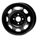Disk ocel  KFZ  čierny 5,5x13 4x100x57 ET43,0