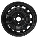 Disk ocel  KFZ  čierny 6x14 4x100x54 ET45
