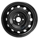 Disk ocel  KFZ  čierny 5x14 4x100x54 ET49