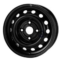 Disk ocel  KFZ  čierny 5,5x14 4x108x65 ET24,0
