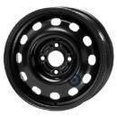Disk ocel  KFZ  čierny 5,5x14 4x108x63,3 ET43,5