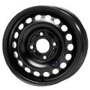 Disk ocel  KFZ  čierny 6x15 4x100x56,5 ET43,0