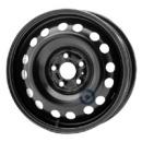 Disk ocel  KFZ  čierny 6,5x15 5x100x56 ET50,0