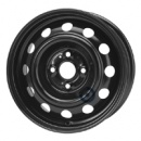 Disk ocel  KFZ  čierny 5,5x14 4x100x54 ET46
