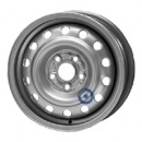 Disk ocel  KFZ  strieborny 5,5x14 5x100x56 ET55