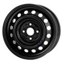 Disk ocel  KFZ  čierny 5,5x14 4x100x54 ET39,0