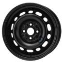 Disk ocel  KFZ  čierny 6x15 4x100x54 ET45