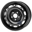 Disk ocel  KFZ  čierny 6x14 5x100x57 ET43,0