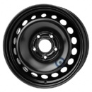 Disk ocel  KFZ  čierny 6,5x15 5x114,3x66 ET43