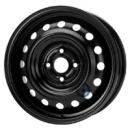 Disk ocel  KFZ  čierny 5,5x15 4x100x54 ET51