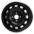 Disk ocel  KFZ  čierny 6x15 4x107,95x63,35 ET37,5