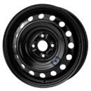 Disk ocel  KFZ  čierny 5x15 4x100x54 ET45