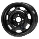 Disk ocel  KFZ  čierny 6x14 4x100x57 ET43,0