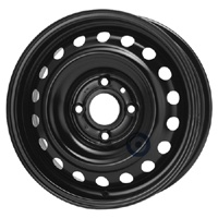 Disk ocel  KFZ  čierny 5,5x15 4x114,3x66 ET40