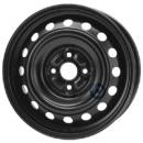 Disk ocel  KFZ  čierny 5,5x15 4x100x54 ET45