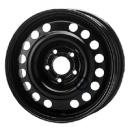 Disk ocel  KFZ  čierny 6x15 5x110x65 ET49,0