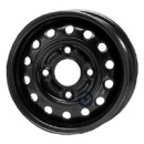 Disk ocel  KFZ  čierny 6x15 4x108x63,3 ET52,5