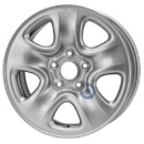 Disk ocel  KFZ  strieborny 6,5x16 5x114,3x60 ET45