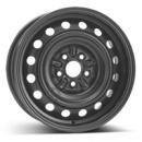 Disk ocel  KFZ  čierny 6x15 5x100x54 ET39,0