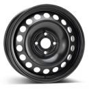 Disk ocel  KFZ  čierny 6x15 4x100x56,5 ET39
