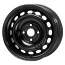 Disk ocel  KFZ  čierny 6x15 4x108x57 ET37,0