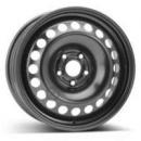 Disk ocel  KFZ  cierny 6,5x16 5x107,95x63,35 ET50