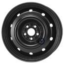 Disk ocel  KFZ  čierny 6,5x16 5x100x56 ET48
