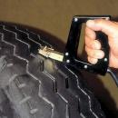 Prerezanie záberovej pneumatiky