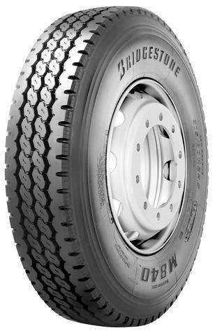 Bridgestone  M840 11,00 R22,5 148/145 K Terén