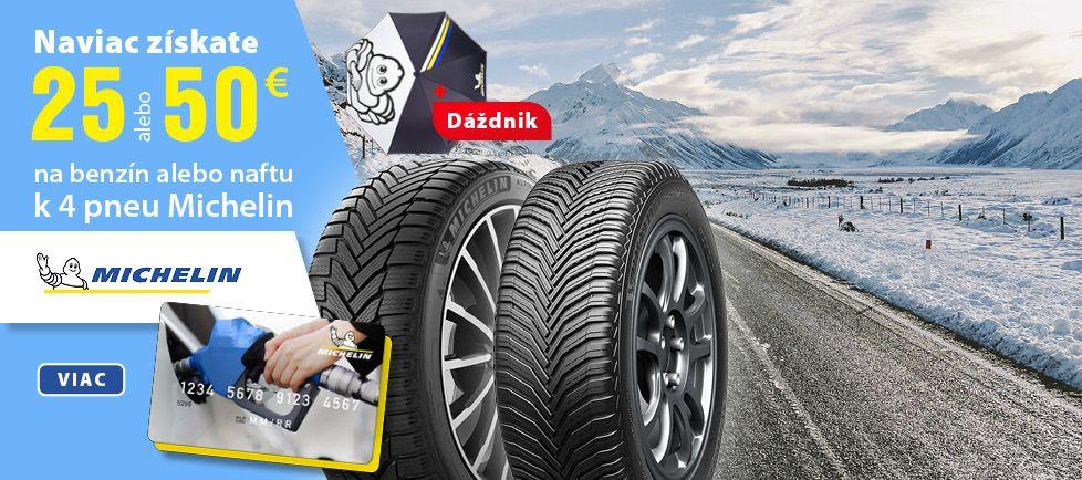 MICHELIN - Natankuj s Michelinom