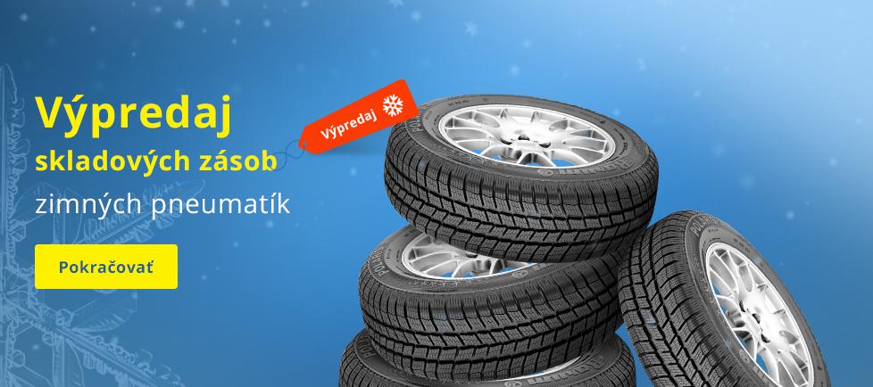 Výprodej zimních pneu