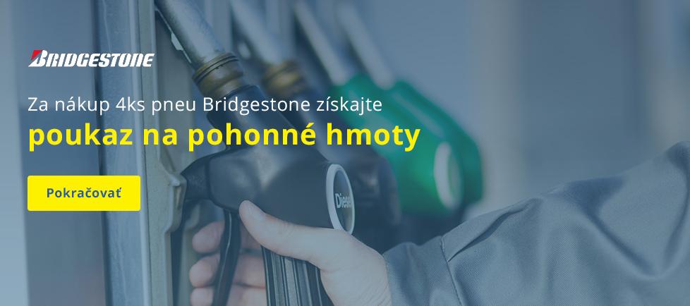 Palivové poukážky Bridgestone