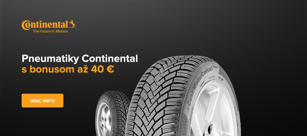 Poukaz 20€ Continental