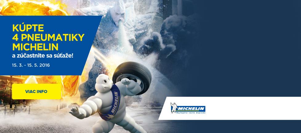 Michelin súťaž jar 2016