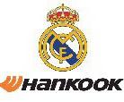Hankook  sponzoruje Real Madrid CF.