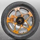 Brzda sa má 'presťahovať' na koleso - nový koncept od Continentalu